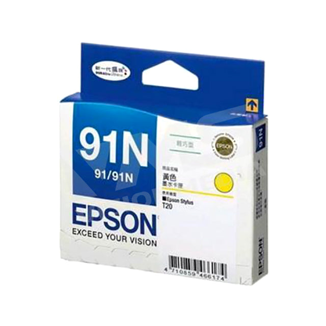 EPSON 91N YELLOW INK CARTRIDGE (T107490)