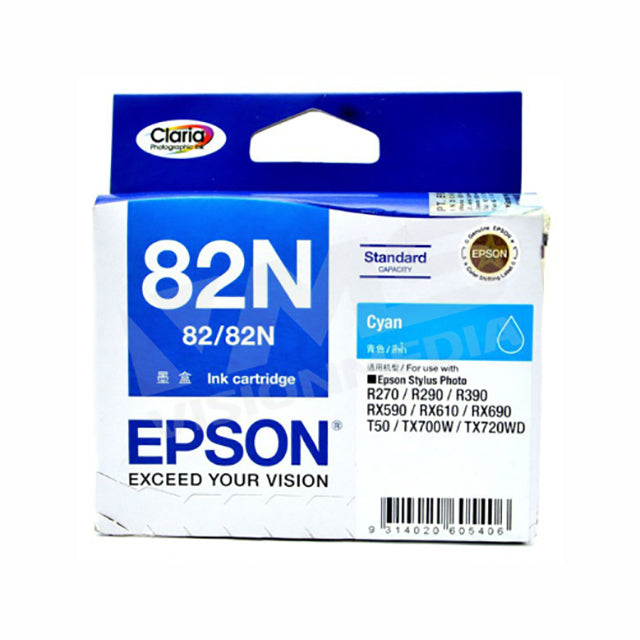 EPSON 82N CYAN INK CARTRIDGE (T112290)
