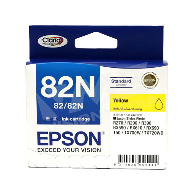 EPSON 82N YELLOW INK CARTRIDGE (T112490)