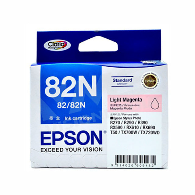 EPSON 82N LIGHT MAGENTA INK CARTRIDGE (T112690)