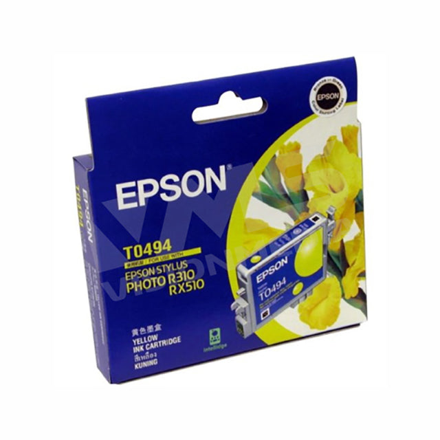 EPSON T049 YELLOW PHOTO INK CARTRIDGE (T049490)