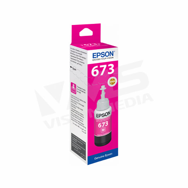 EPSON T6733 MAGENTA INK CARTRIDGE (T673300)