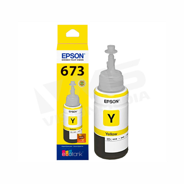 EPSON T6734 YELLOW INK CARTRIDGE (T673400)