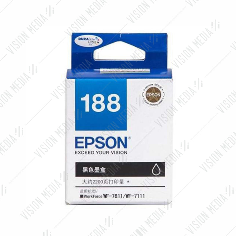 EPSON BLACK HIGH CAPACITY INK CARTRIDGE (T188190)
