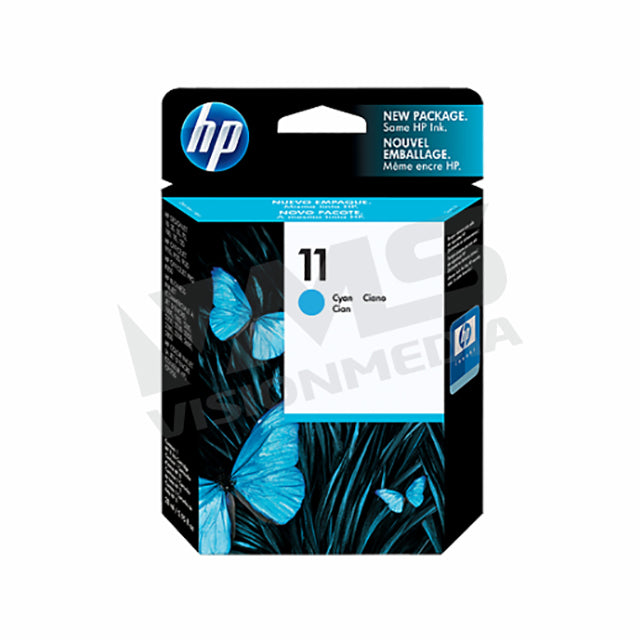 HP 11 CYAN INK CARTRIDGE (C4836A)
