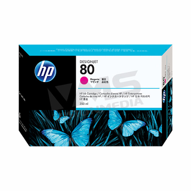 HP 80 MAGENTA INK CARTRIDGE (C4847A)