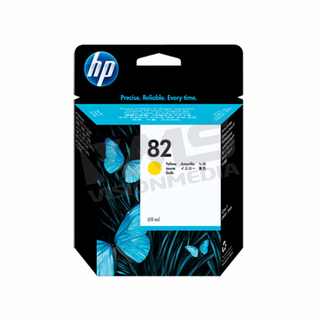HP 82 YELLOW INK CARTRIDGE (C4913A)