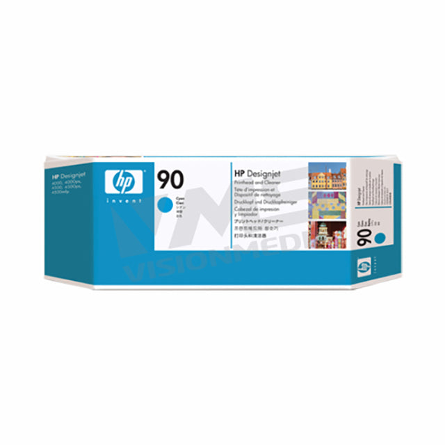 HP 90 CYAN PRINTHEAD & CLEANER (C5055A)