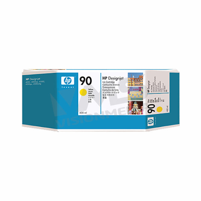 HP 90 YELLOW INK CARTRIDGE (C5065A)