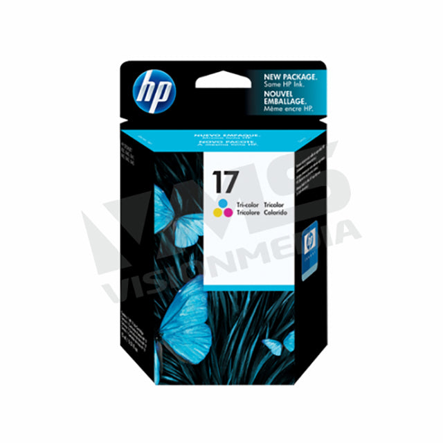 HP 17 TRI-COLOR INK CARTRIDGE (C6625A)