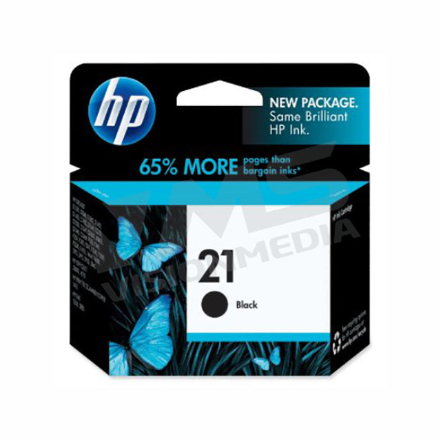 HP 21 BLACK INK CARTRIDGE (C9351AA)