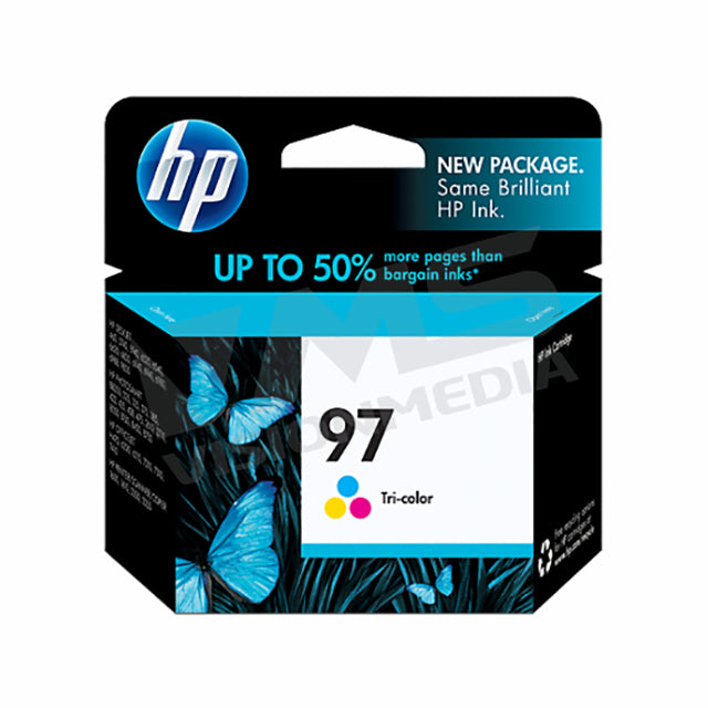 HP 97 TRI-COLOR INK CARTRIDGE (C9363WA)