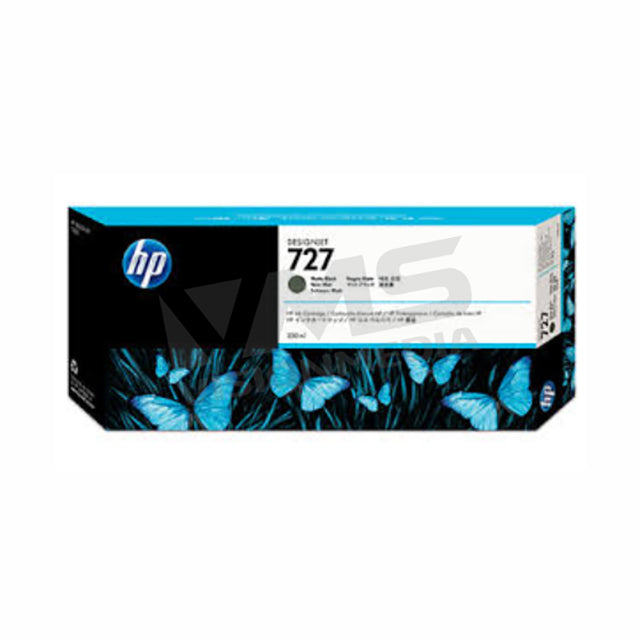 HP 727 300ML MATTE BLACK INK CARTRIDGE (C1Q12A)