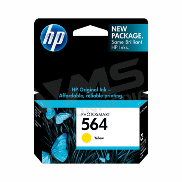 HP 564 YELLOW INK CARTRIDGE (CB320WA)