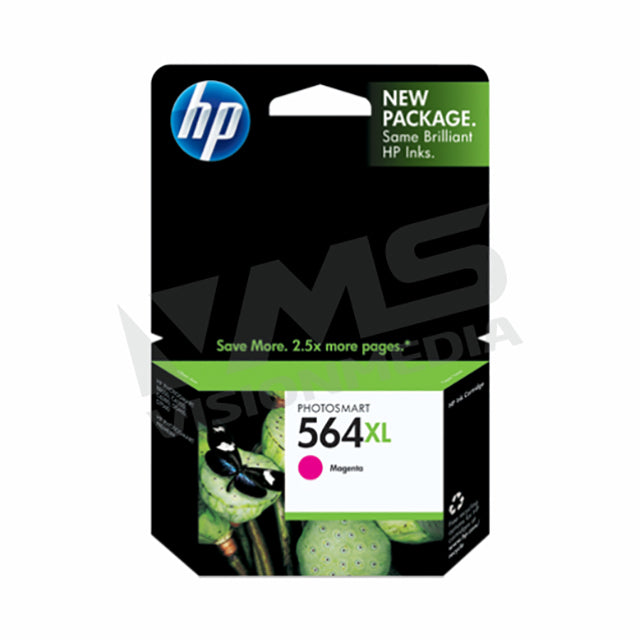 HP 564XL MAGENTA INK CARTRIDGE (CB324WA)