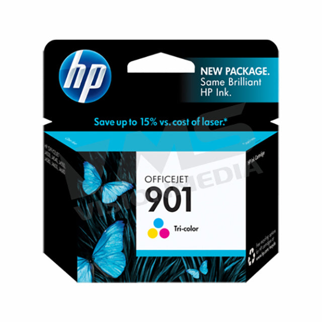 HP 901 TRI-COLOR INK CARTRIDGE (CC656AA)