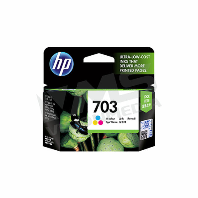 HP 703 TRI-COLOR INK CARTRIDGE (CD888AA)
