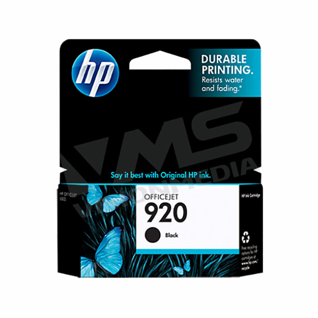 HP 920 BLACK INK CARTRIDGE (CD971AA)