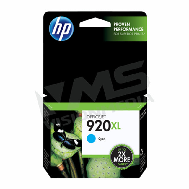 HP 920XL CYAN INK CARTRIDGE (CD972AA)