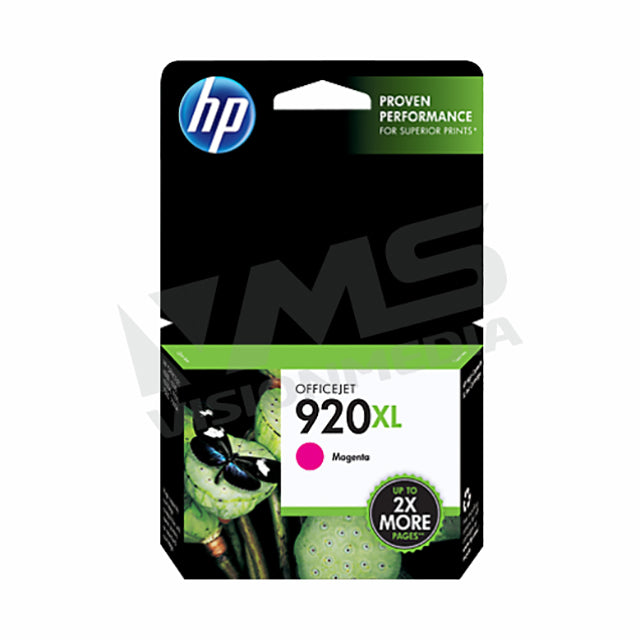 HP 920XL MAGENTA INK CARTRIDGE (CD973AA)