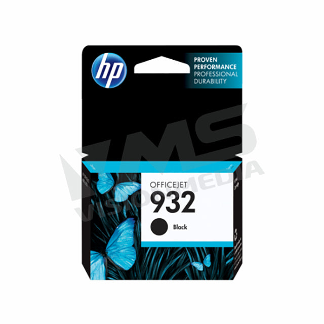 HP 932 BLACK INK CARTRIDGE (CN057AA)