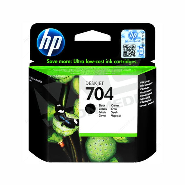 HP 704 BLACK INK CARTRDGE (CN692AA)