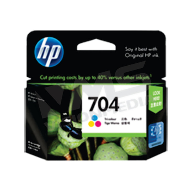 HP 704 TRI-COLOR INK CARTRDGE (CN693AA)