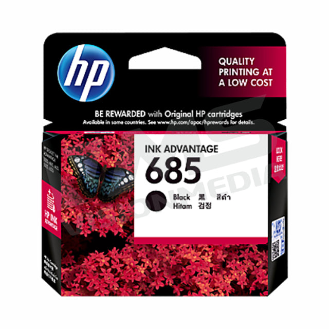 HP 685 BLACK INK CARTRIDGE (CZ121AA)
