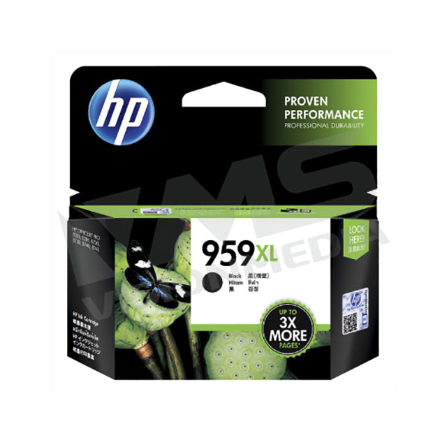 HP 959XL BLACK INK CARTRIDGE (L0R42AA)