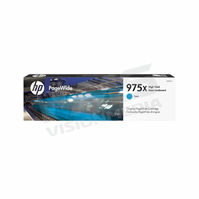 HP 975X CYAN PAGEWIDE CARTRIDGE (L0S00AA)