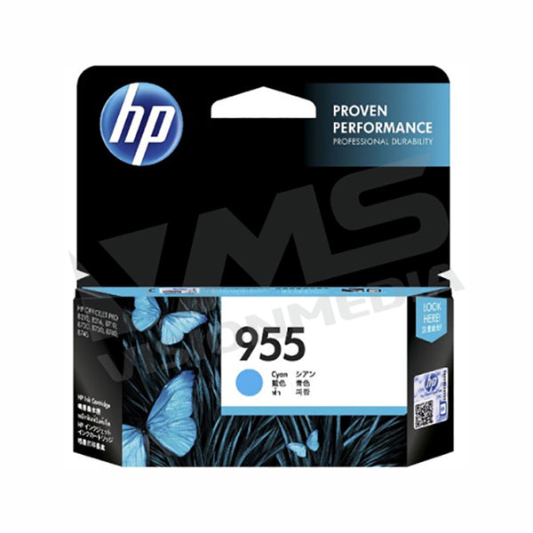 HP 955 CYAN INK CARTRIDGE (L0S51AA)