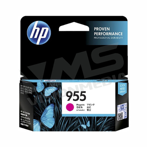 HP 955 MAGENTA INK CARTRIDGE (L0S54AA)