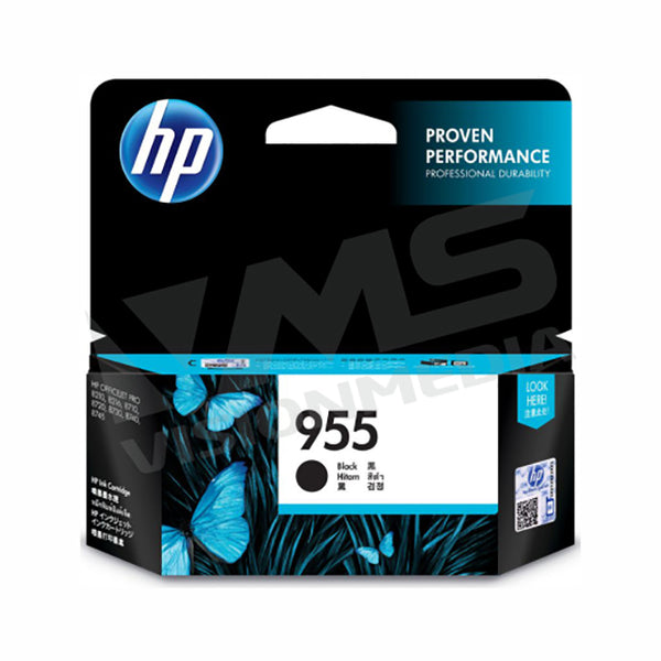 HP 955 BLACK INK CARTRIDGE (L0S60AA)