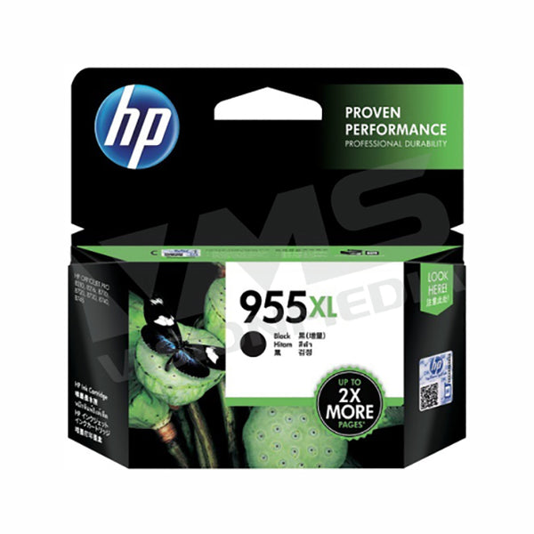 HP 955XL BLACK INK CARTRIDGE (L0S72AA)