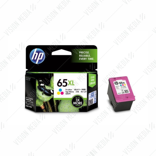 HP 65XL TRI-COLOR INK CARTRIDGE (N9K03AA)