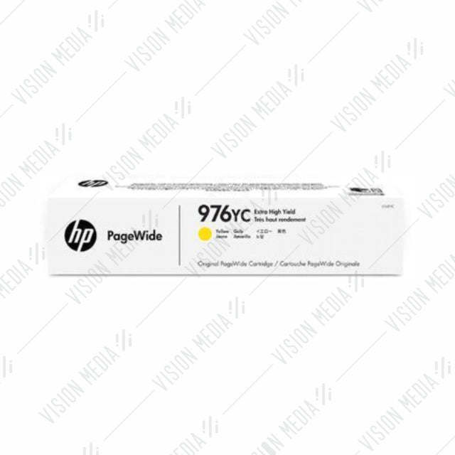 HP 976YC YELLOW CONTRACT PAGEWIDE CARTRIDGE (L0S31YC)
