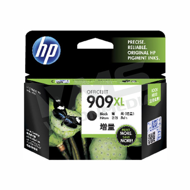 HP 909XL BLACK INK CARTRIDGE (T6M21AA)