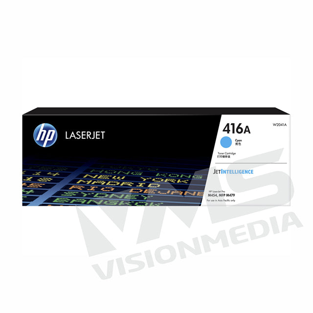 HP 416A CYAN TONER CARTRIDGE (W2041A)