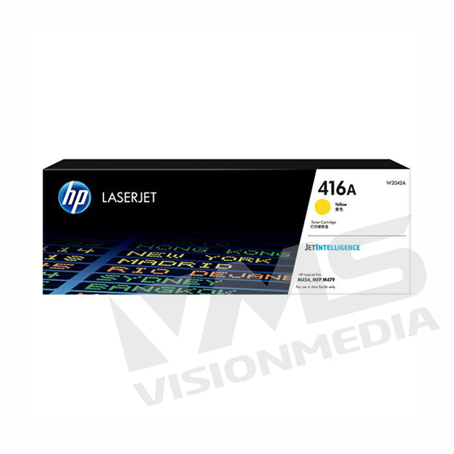 HP 416A YELLOW TONER CARTRIDGE (W2042A)