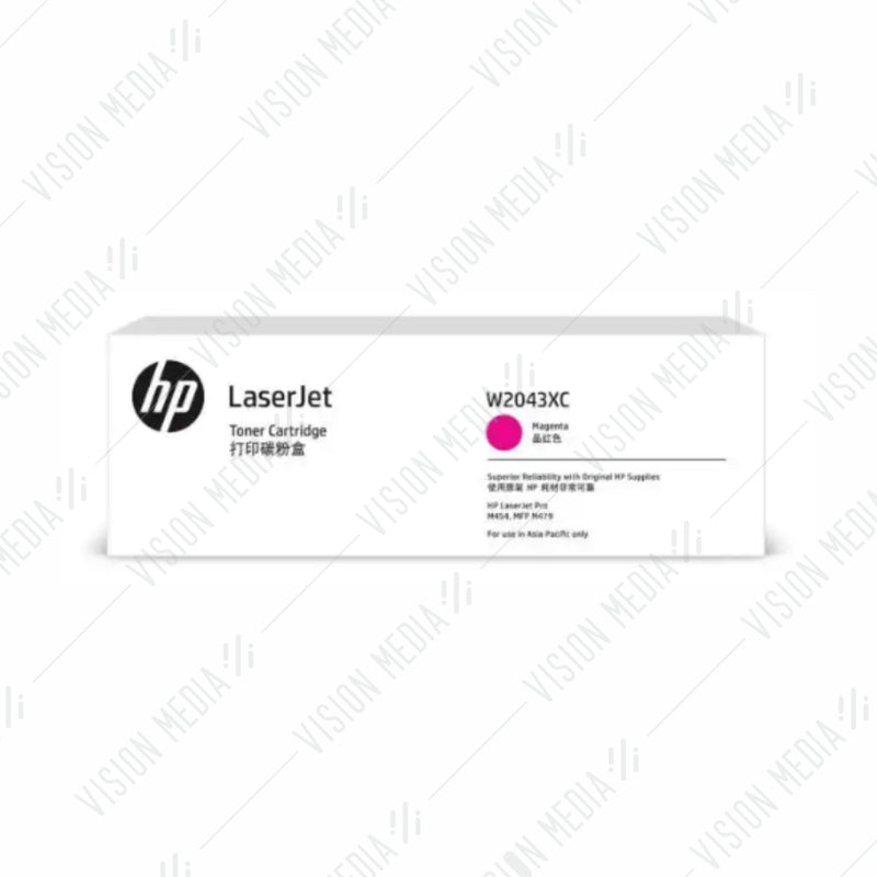 HP 416X MAGENTA CONTRACTUAL TONER CARTRIDGE (W2043XC)