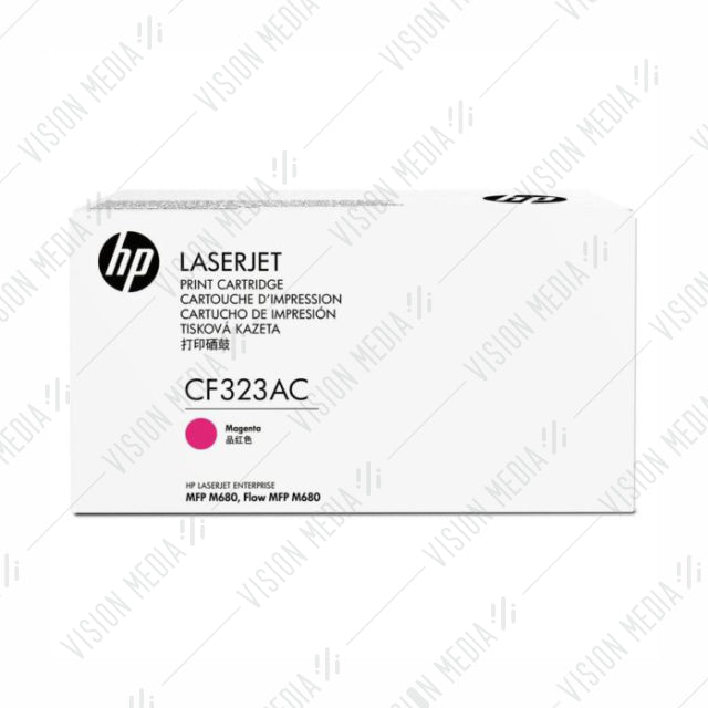 HP 653A MAGENTA CONTRACTUAL TONER CARTRIDGE (CF323AC)