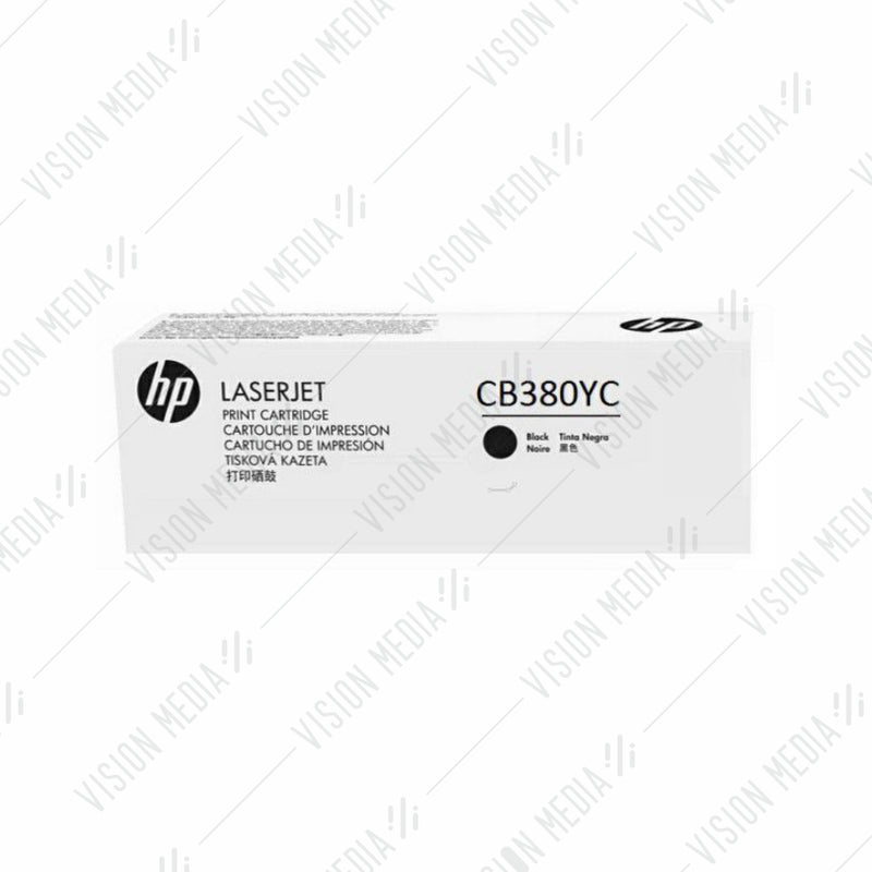 HP EXTRA HIGH YIELD BLACK CONTRACTUAL TONER CARTRIDGE (CB380YC)