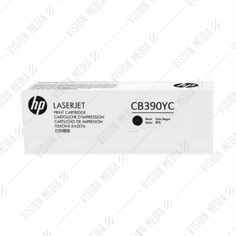 HP EXTRA HIGH YIELD BLACK CONTRACTUAL TONER CARTRIDGE (CB390YC)