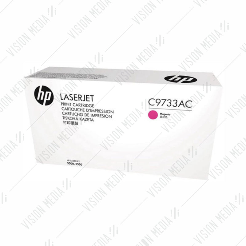HP 645A MAGENTA CONTRACTUAL TONER CARTRIDGE (C9733AC)