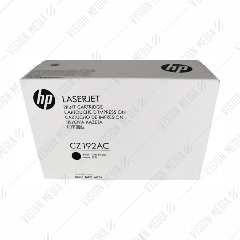 HP 93A BLACK CONTRACTUAL TONER CARTRIDGE (CZ192AC)