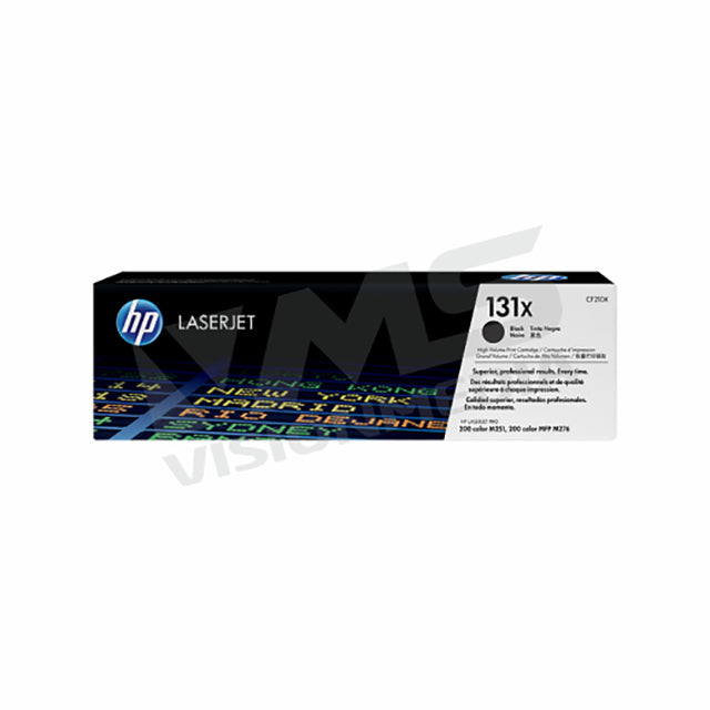 HP 131X HIGH YIELD BLACK TONER CARTRIDGE (CF210X)