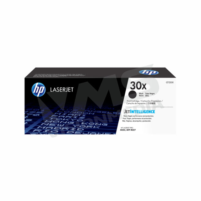 HP 30X HIGH YIELD BLACK TONER CARTRIDGE (CF230X)