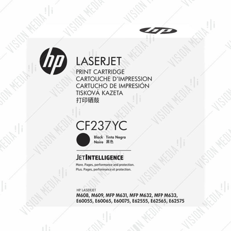 HP 37Y EXTRA HIGH YIELD BLACK CONTRACTUAL TONER CARTRIDGE (CF237YC)