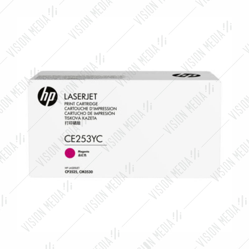 HP 504Y MAGENTA CONTRACTUAL TONER CARTRIDGE (CE253YC)