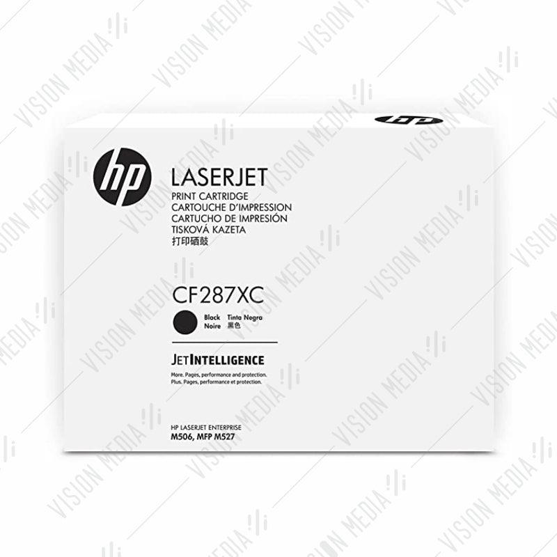 HP 87X BLACK CONTRACTUAL TONER CARTRIDGE (CF287XC)